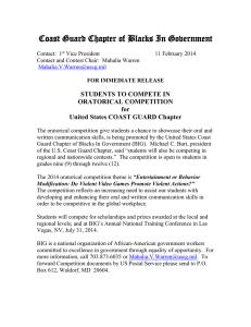 Coast Guard PowerPoint