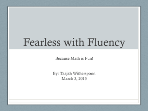 Fearless with Fluency
