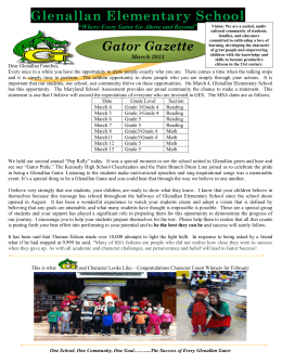 March Gator Gazette 2014 English