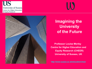 Imagining the University of the Future [PPT 2.08MB]