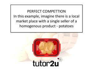 Click here to download the resource Perfect Competition