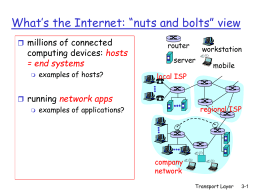 Networking Overview*