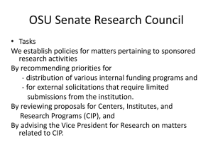 Research Council PowerPoint
