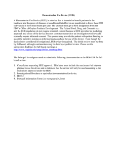 To IRB-HSR Form.
