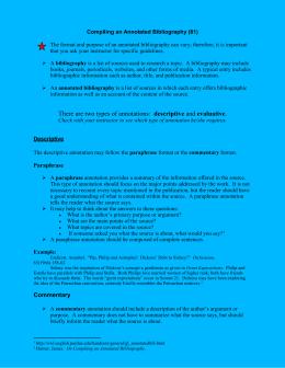 Homework help bibliography
