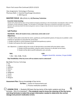 math worksheet : pharm tech lesson plan : Pharmacy Technician Math Worksheets