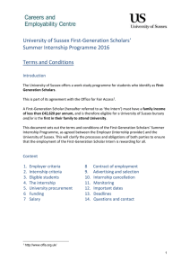 FGS Internships Ts & Cs [DOCX 154.52KB]
