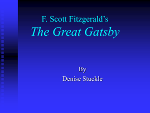 novel project F. Scott Fitzgerald_s.ppt