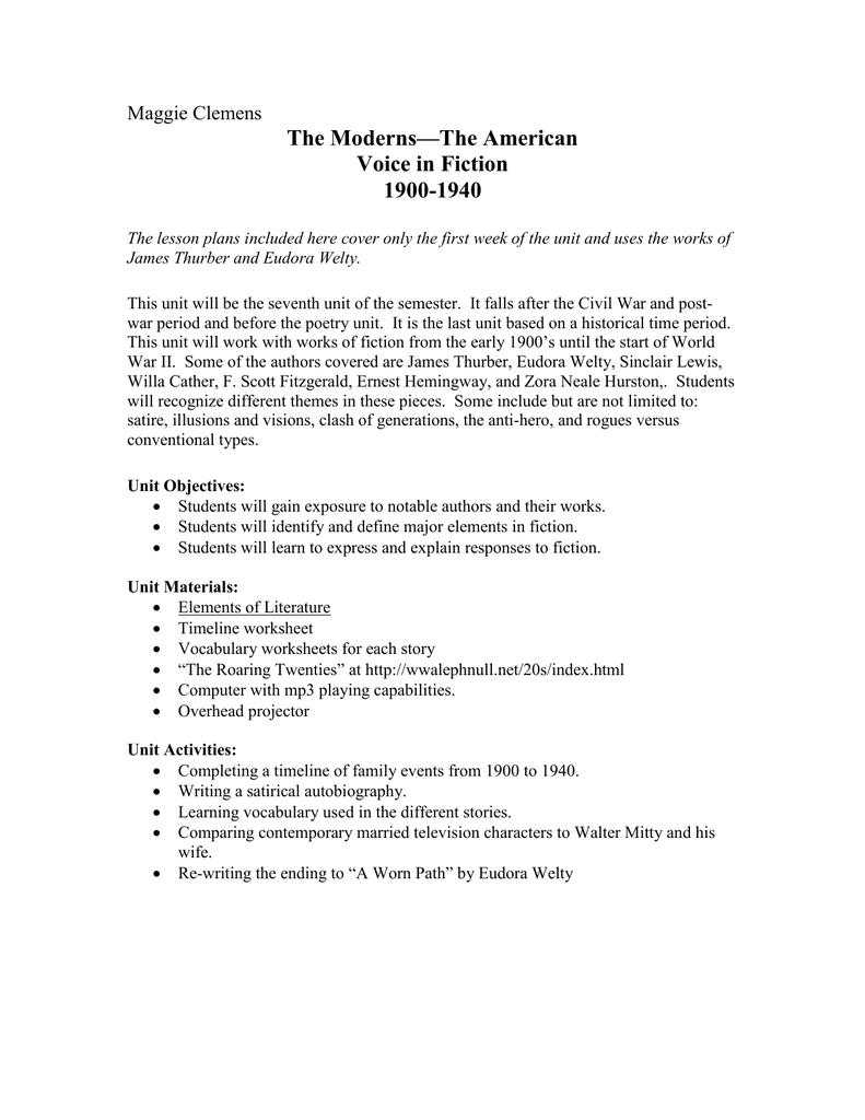 worksheet Elements Of Fiction Worksheet the moderns version 4 doc