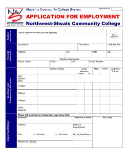 nw scc job application microsoft word format