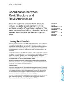 Revit Structure and Revit Architecture