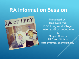 View information session slideshow here!