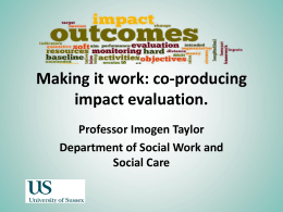 Conversation Starter: Imogen Taylor, University of Sussex [PPT 219.50KB]