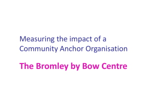 Conversation Starter: Dan Hopewell, Bromley by Bow Centre [PPT 2.02MB]