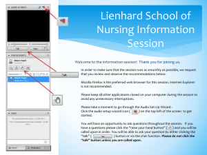 Lienhard School of Nursing Information Session