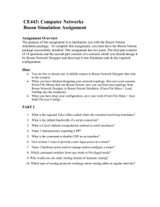 CE443 Boson Simulation Assignment.doc