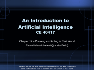 AI-12-Planning and Acting in the Real World.ppt