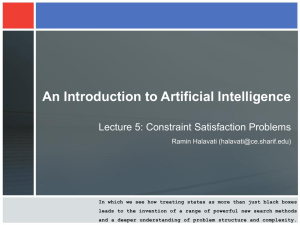 AI-05-Constraint Satisfaction.ppt