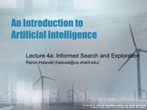 AI-04a-Informed Search and Exploration.ppt