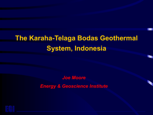 The Karaha-Telaga Bodas Geothermal System, Indonesia