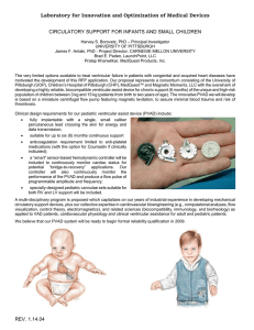 Pediatric Ventricular Assist Devices