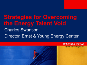 Strategies for Overcoming the Energy Talent Void Charles Swanson