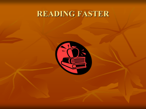 faster reading.ppt