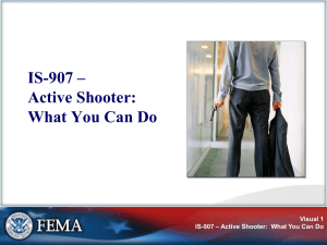 Active Shooter Triaining Presentation