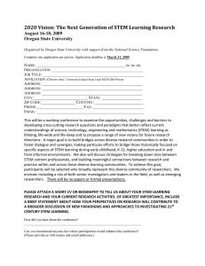 Conference Application