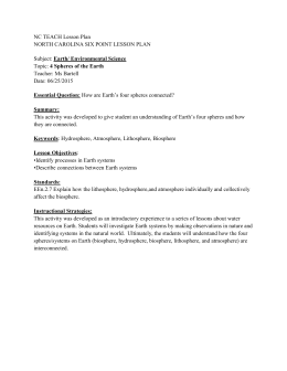 NC TEACH Lesson Plan NORTH CAROLINA SIX POINT LESSON PLAN
