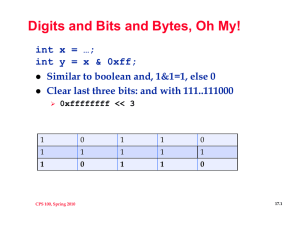 Digits and Bits and Bytes, Oh My!