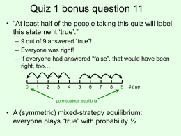Quiz 1 bonus questions slides.