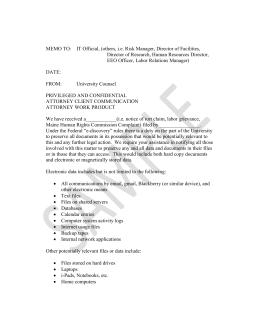 litigation hold sample letter