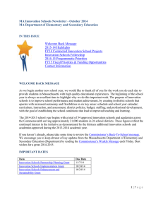 2014 15BackToSchool Newsletter