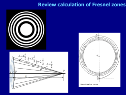 Lectures/notes/lecture 34 Gaussian beams, Fourier optics.pptx