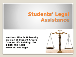 Students' Legal Assistance