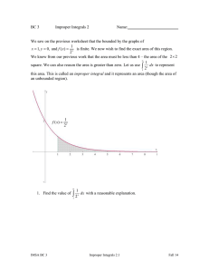 Improper Integrals II