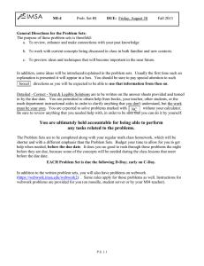 IMSA360 Fall/Winter 2012 - Illinois Mathematics and Science