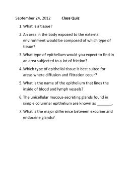 Worksheets Epithelial Tissue Worksheet anatomy worksheet epithelial tissues sept 24 class quiz and homework assignment