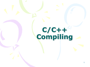UnixCampCompilingCold.ppt