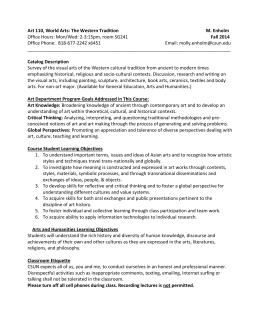 art 305 syllabus 1