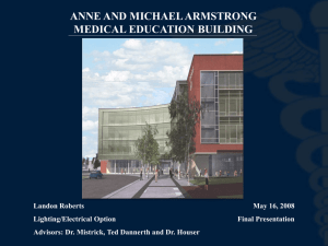 ANNE AND MICHAEL ARMSTRONG MEDICAL EDUCATION BUILDING