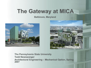 The Gateway at MICA