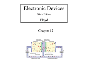 Electronic Devices Floyd Chapter 12 Ninth Edition