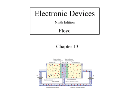 Electronic Devices Floyd Chapter 13 Ninth Edition