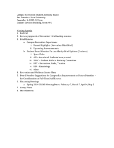 /~recsport/documents/CRSAB Meeting Agenda December 06 2013.docx