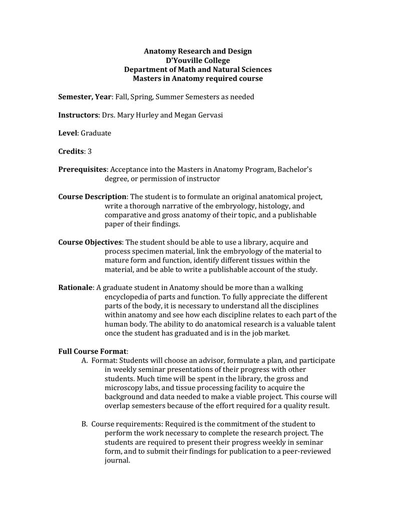 RLF-Anatomy Research#3OE3#l.doc