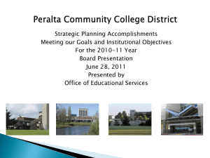5. Strategic Planning Accomplishments 6-28-11