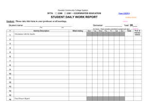 Form COOP 6 - Stud Daily Work Report (Yellow) 14-0116.doc
