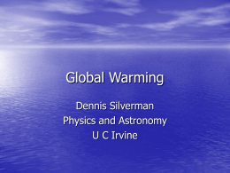 Global Warming (Powerpoint)